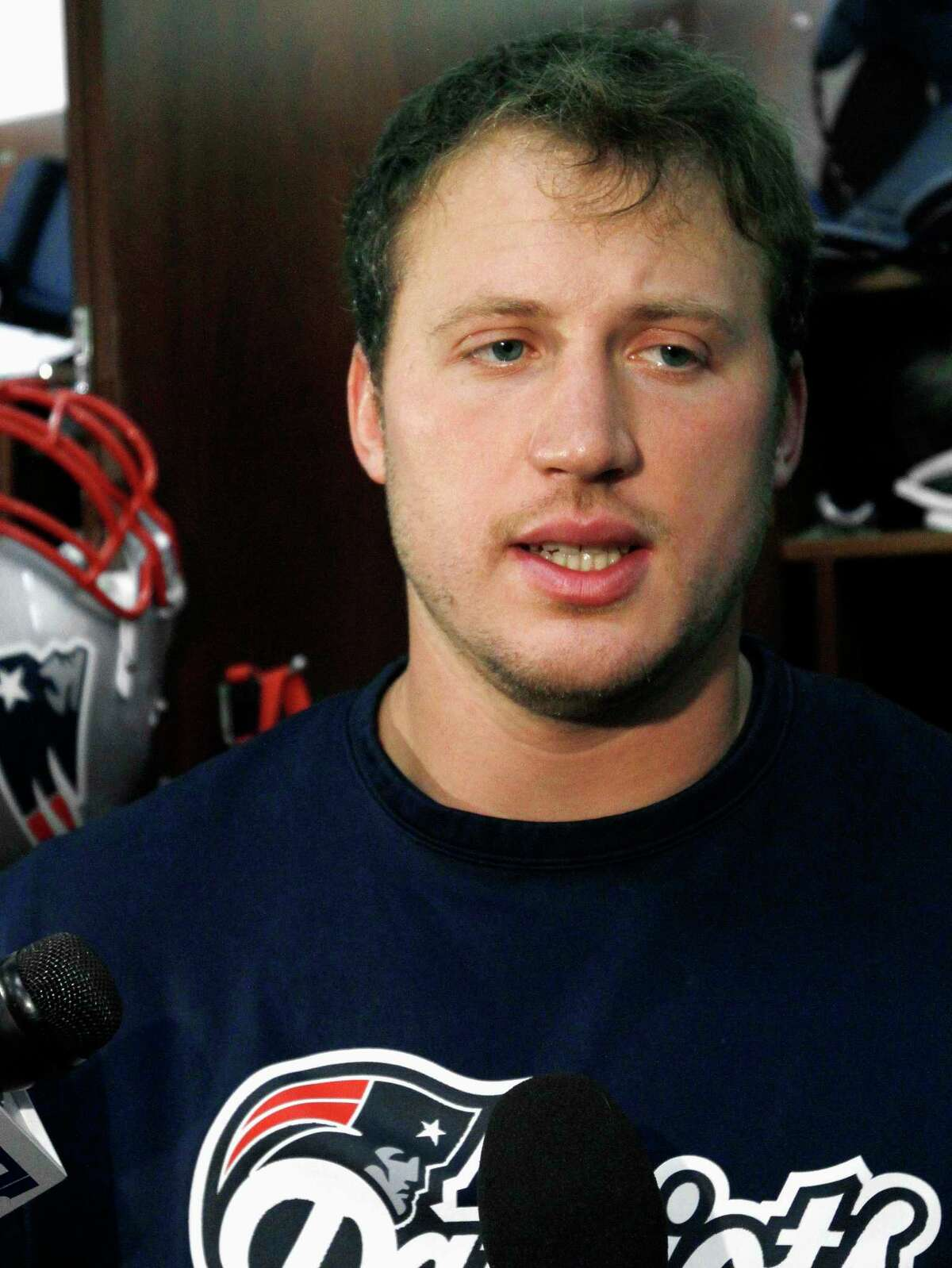 New England Patriots left tackle Nate Solder was injured in Sunday's game against the Cowboys in Dallas.