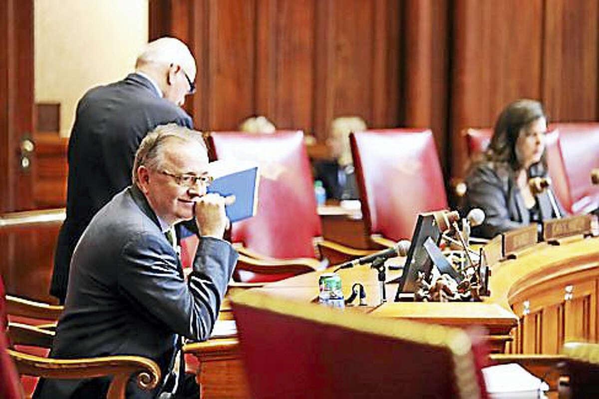 State Sen. Andrew Maynard in the Senate chamber Feb. 17, 2016
