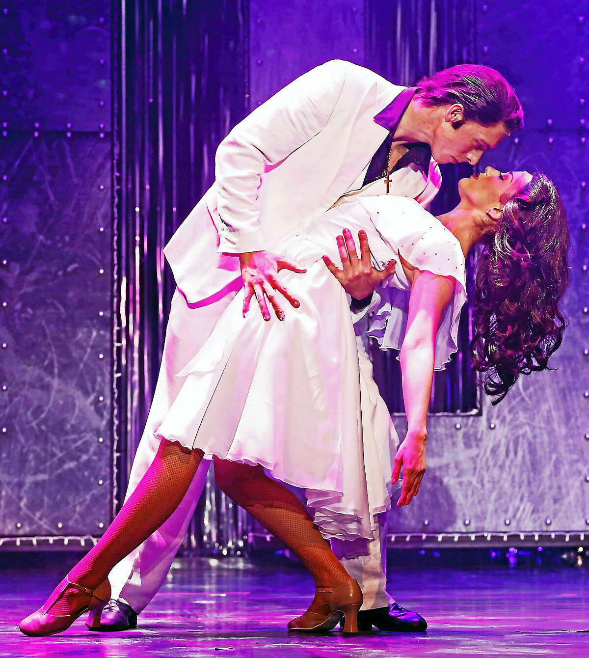 Photography by ©Erin O'Boyle PhotographicsSaturday Night Fever, the 70s disco love story, takes the Palace Theater stage later in February.