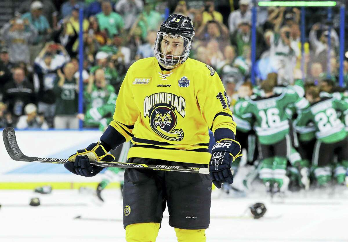 Quinnipiac defenseman Chase Priskie was selected by the Washington Capitals in the sixth round of the NHL Entry Draft on Saturday.