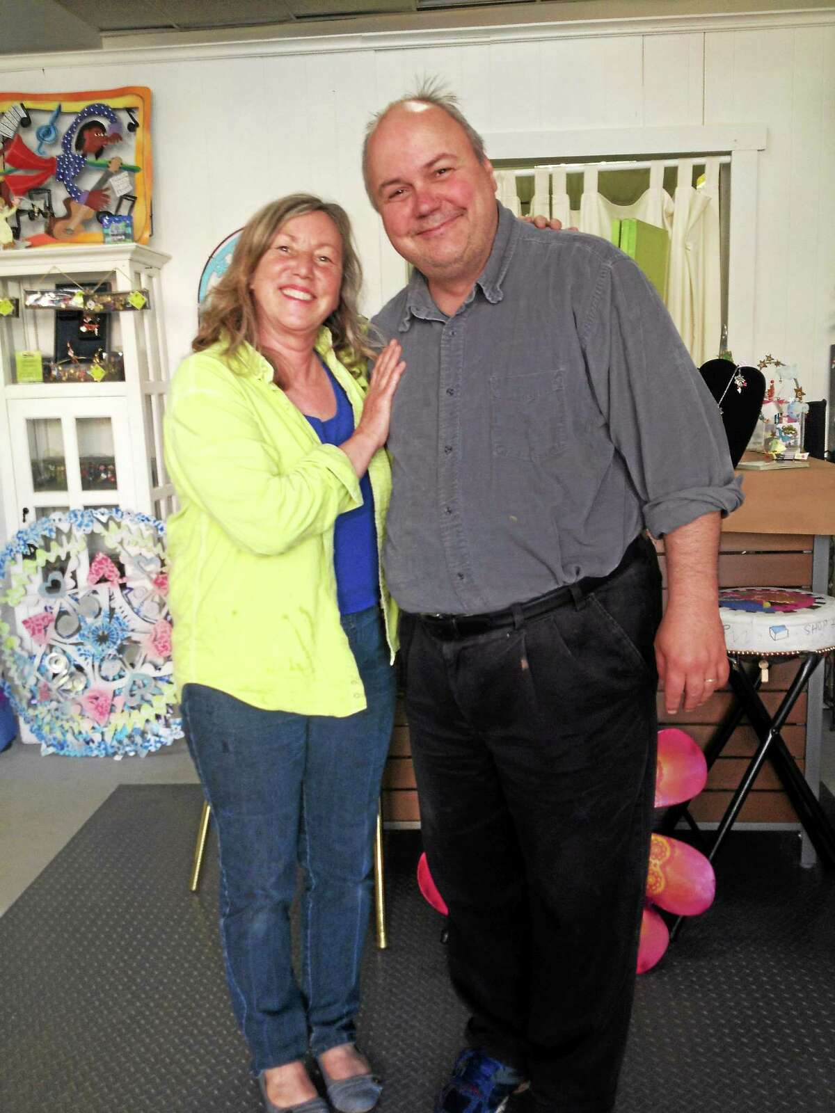 Contributed photo Artist and writer J. Timothy Quirk is showing his work at Karen Rossi Studios in Torrington.
