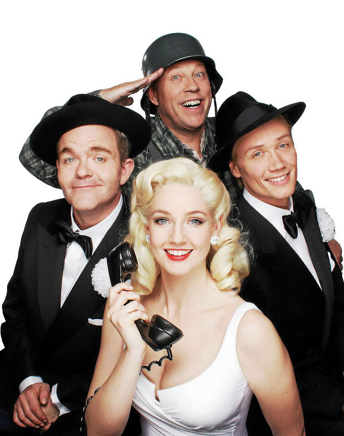 Contributed photoThe cast of The Producers, who will perform a show during their national tour, Oct. 30 in Waterbury.