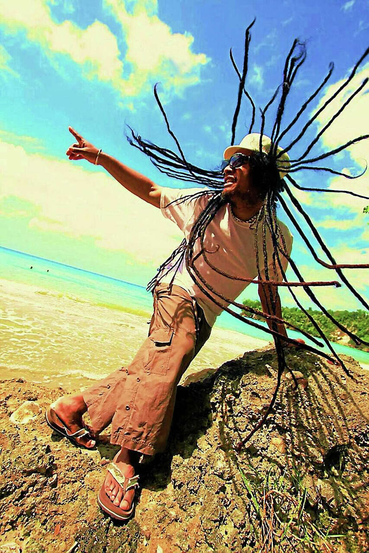 Contributed photoJunior Marvin is a performer in the upcoming Bob Marley show at the Palace Theater in Waterbury.
