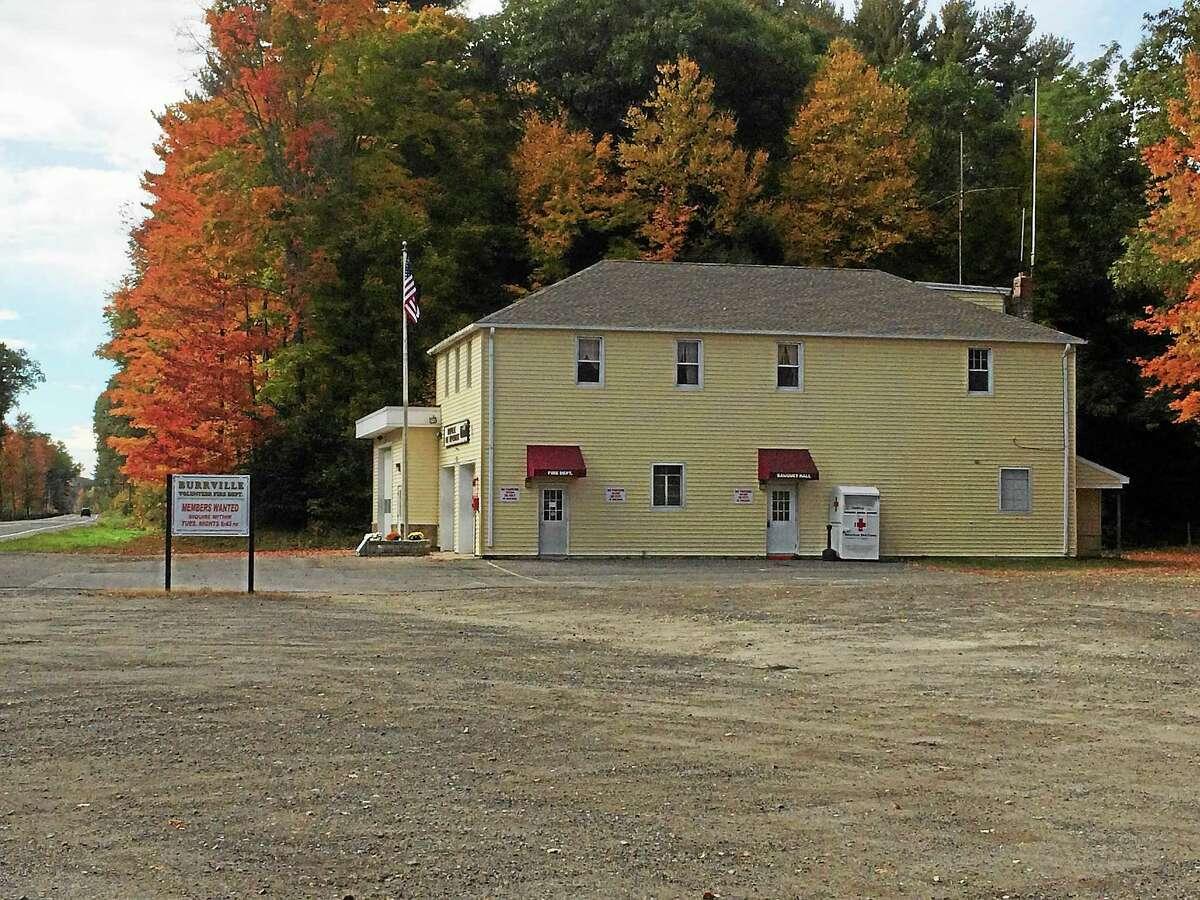 The Burrville Volunteer Fire Department in Torrington.