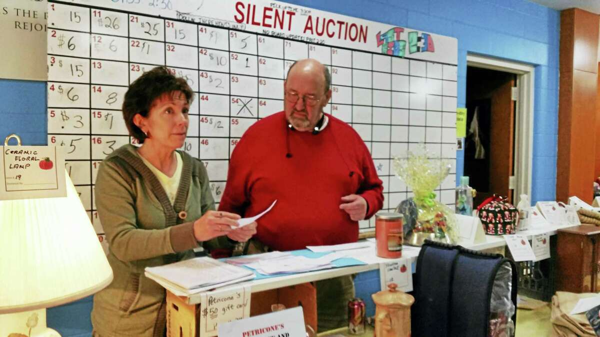 A silent auction helped raise funds during the annual Fall Festival & Craft Fair at the First United Methodist Church Saturday.