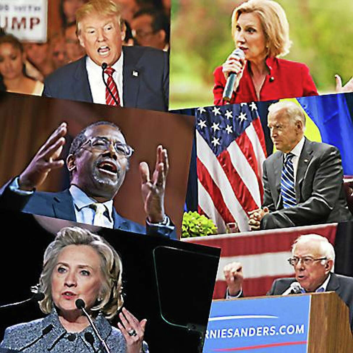 Presidential candidates for 2016