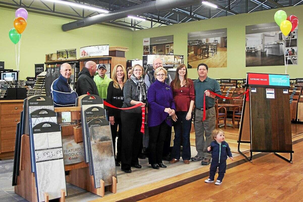 Dalene Flooring celebrated its grand reopening Friday morning.