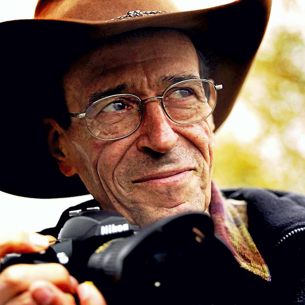 Life Magazine photojournalist Bill Eppridge is seen in 2007.