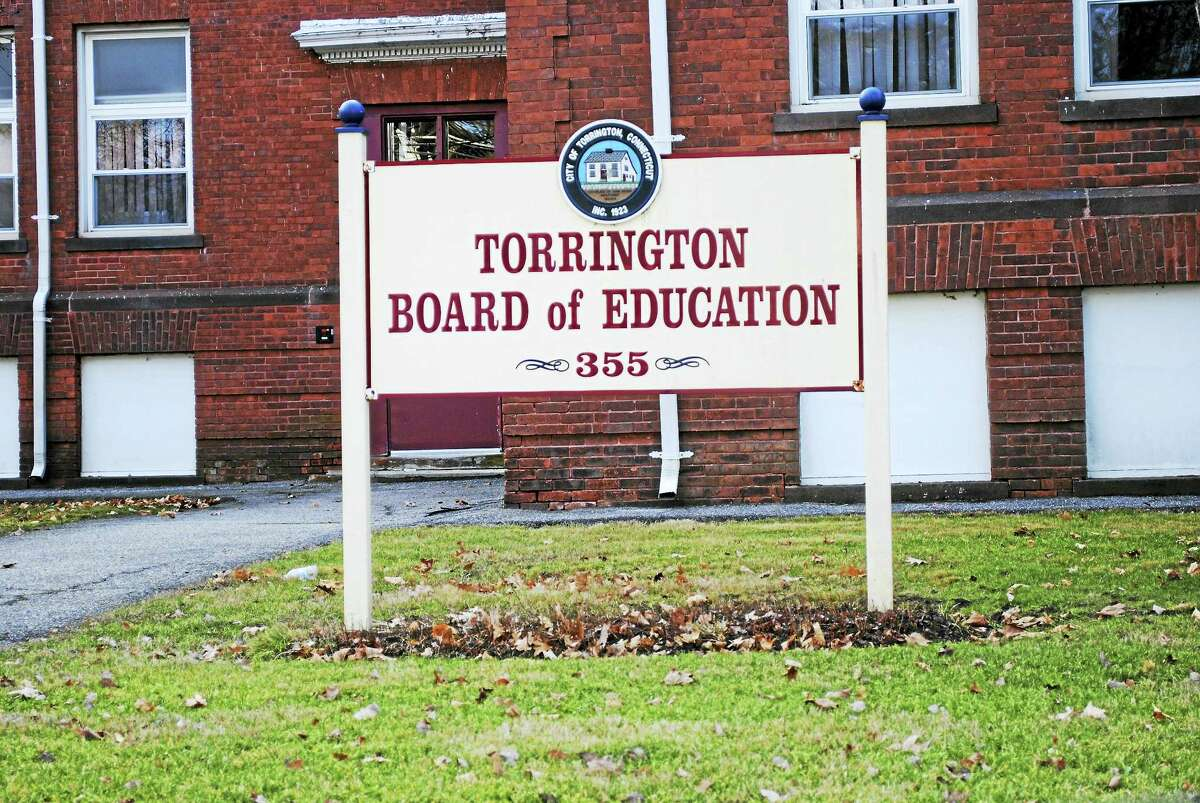 Viktoria Sundqvist - The Register Citizen ¬ The Board of Education offices on Migeon Avenue in Torrington.