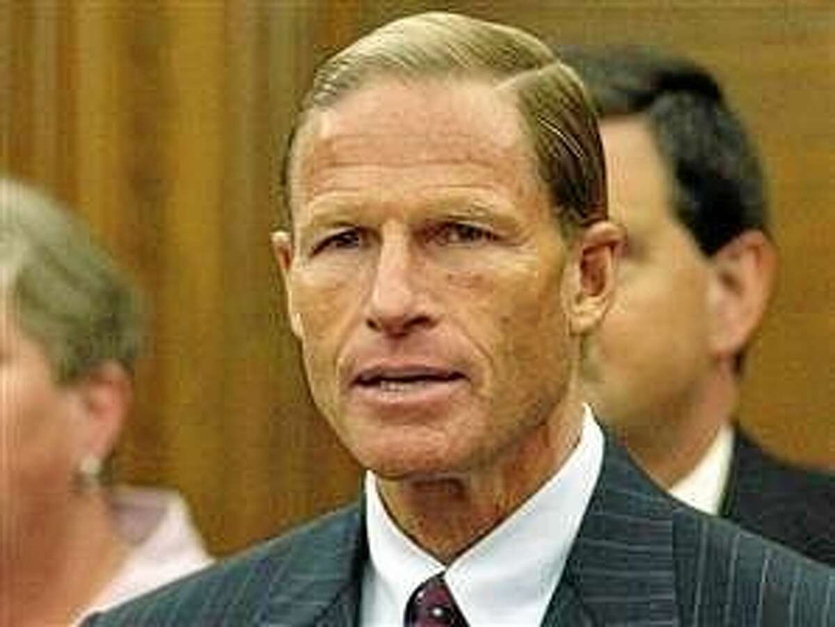 U.S. Sen. Richard Blumenthal, who wrote Wednesday that the U.S. Department of Justice should deny the mergers of Aetna with Humana and Anthem with Cigna.