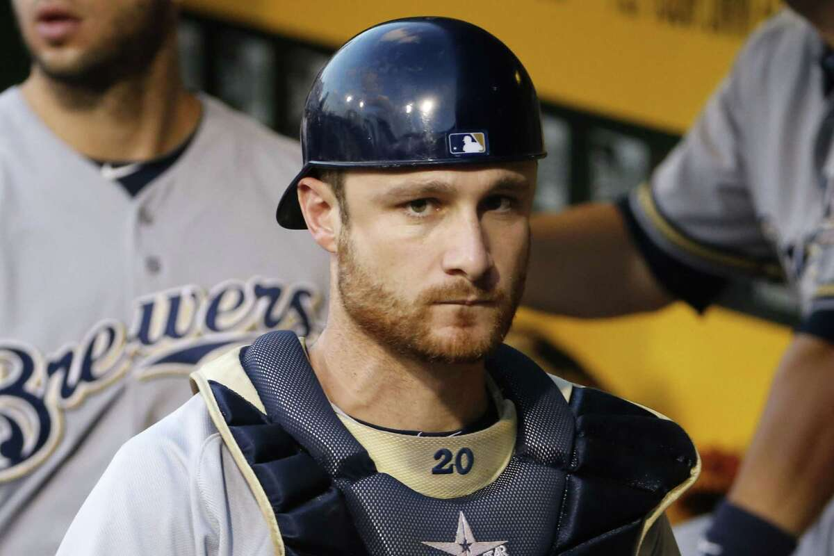 All-Star Milwaukee Brewers catcher Jonathan Lucroy will miss four to six weeks of spring training because of a mild strain of his right hamstring.