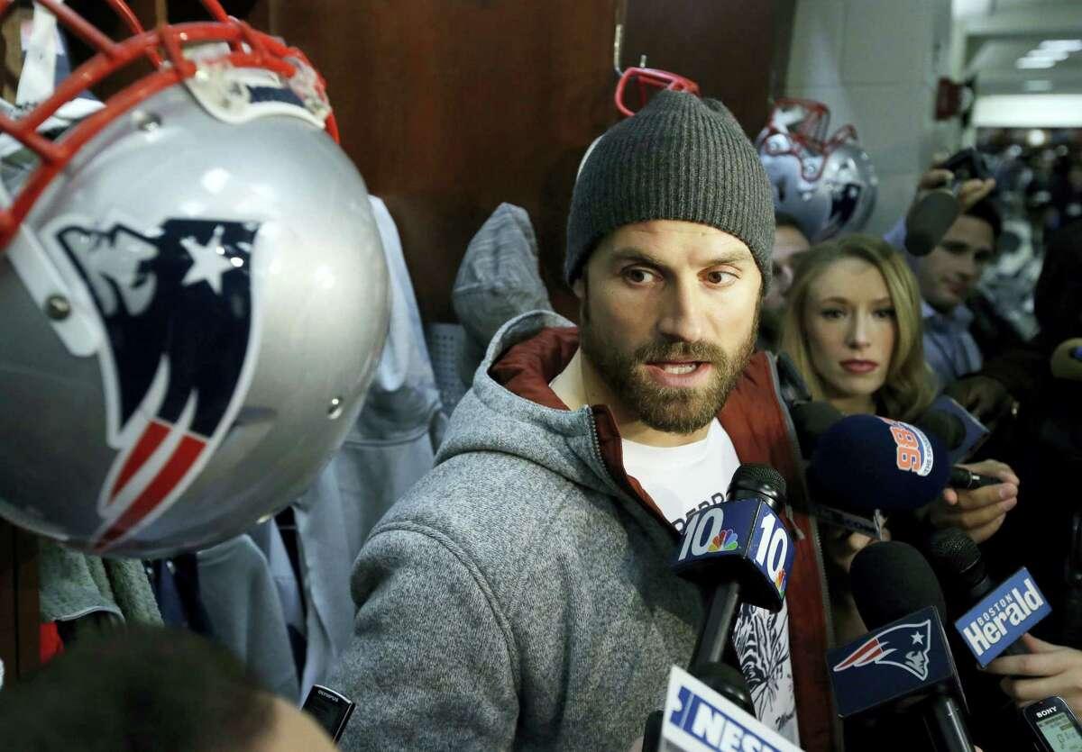 New England Patriots defensive end Chris Long.