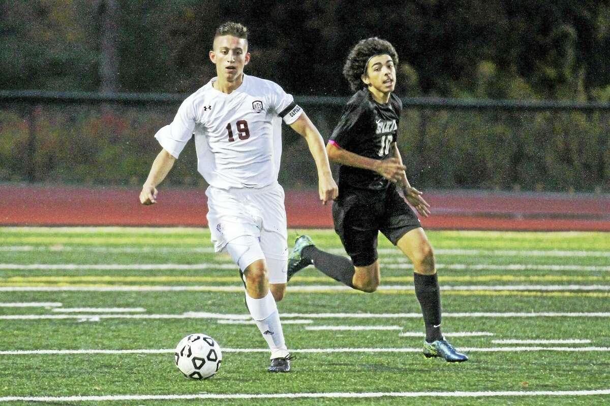 Brendan Stater and the Torrington boys soccer team begin NVL tournament play on Saturday.