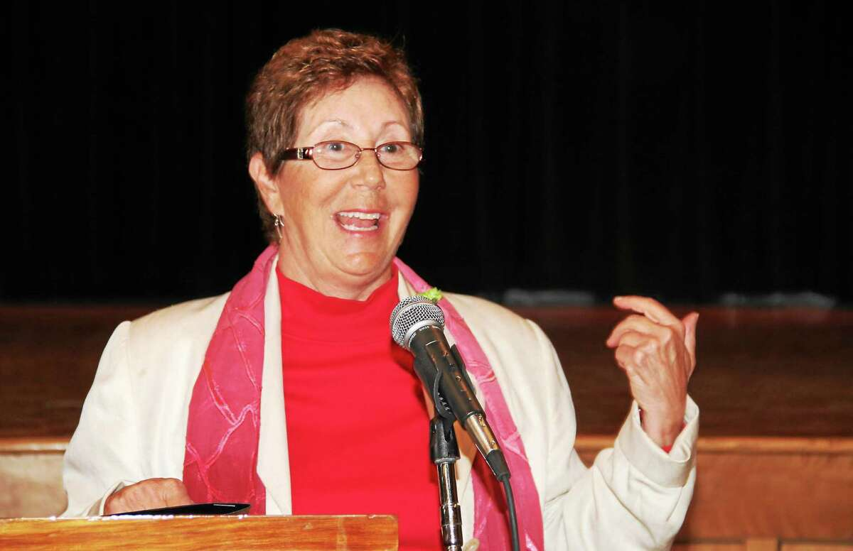 Sharon Dante, Torrington's Italian Mayor of the Day.