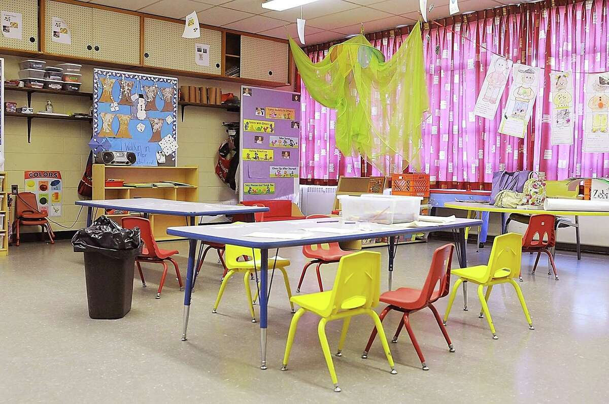 View of a classroom insdie Saint Francis Early Learning Center in Norristown in this 2011 file photo.