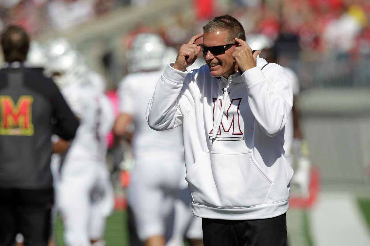Maryland head coach Randy Edsall was fired on Sunday.