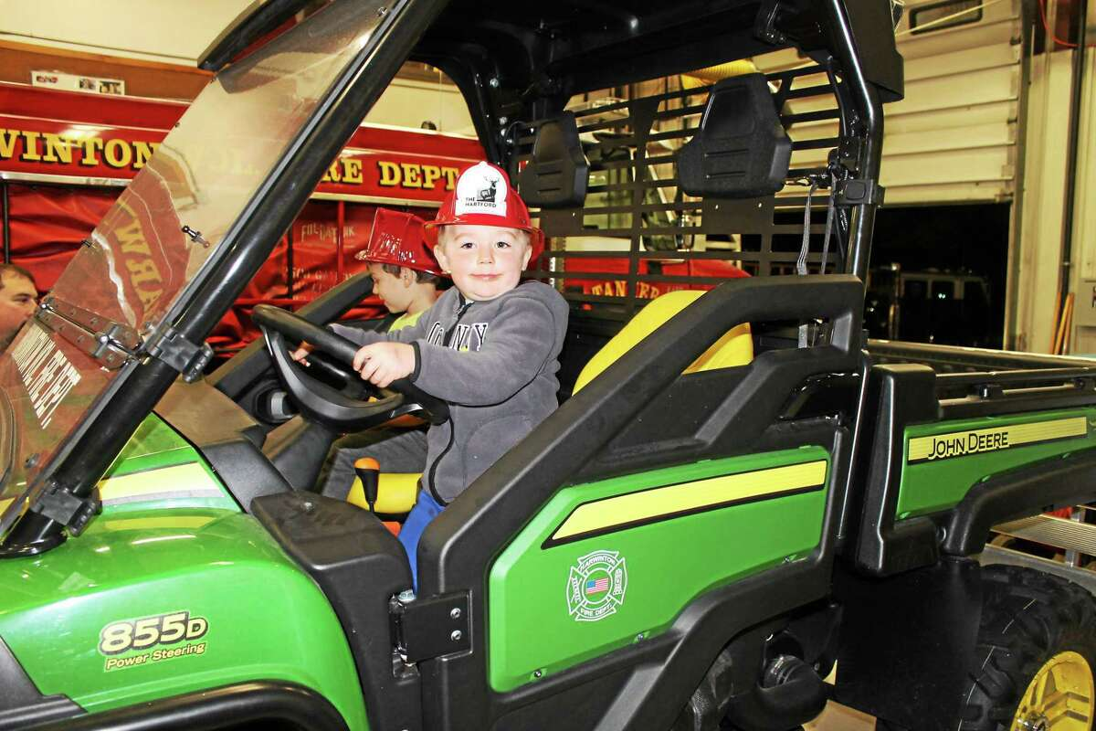 The Harwinton Volunteer Fire Department hosted its annual Open House on Thursday as a culmination of Fire Prevention Week.