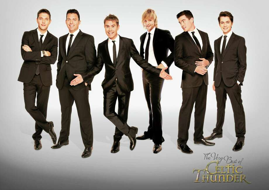 Contributed photo Dancers from the Very Best of Celtic Thunder, which will be presented by Infinity Music Hall, Norfolk at the Warner Theatre in April. Tickets go on sale Friday, Feb. 13. Photo: Journal Register Co.
