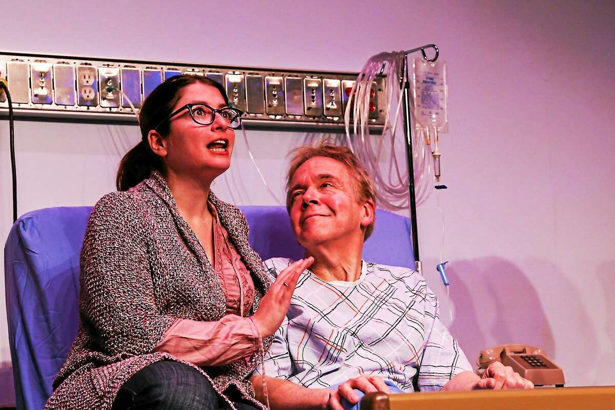Photos by Richard Pettibone Courtney Lauria as Lisa Lyons and William Hughes as Ben Lyons in