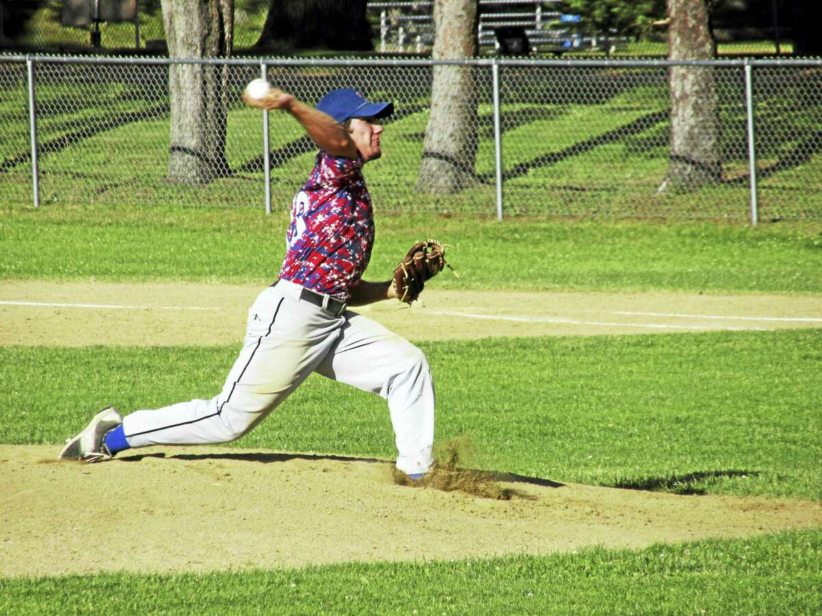 Winsted's Vinny Tranceti threw a three-hitter in an American Legion Baseball win over Southington Wednesday at Walker Field.