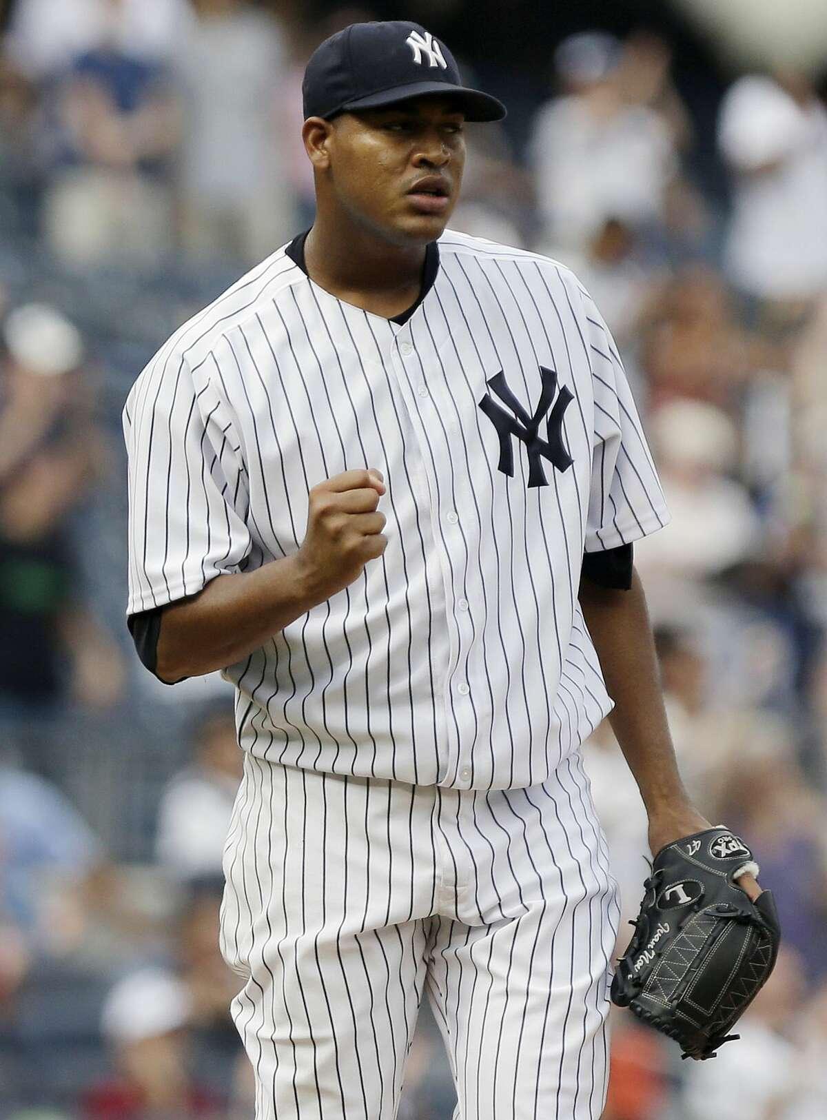New York Yankees starter Ivan Nova hopes to throw off a mound soon.