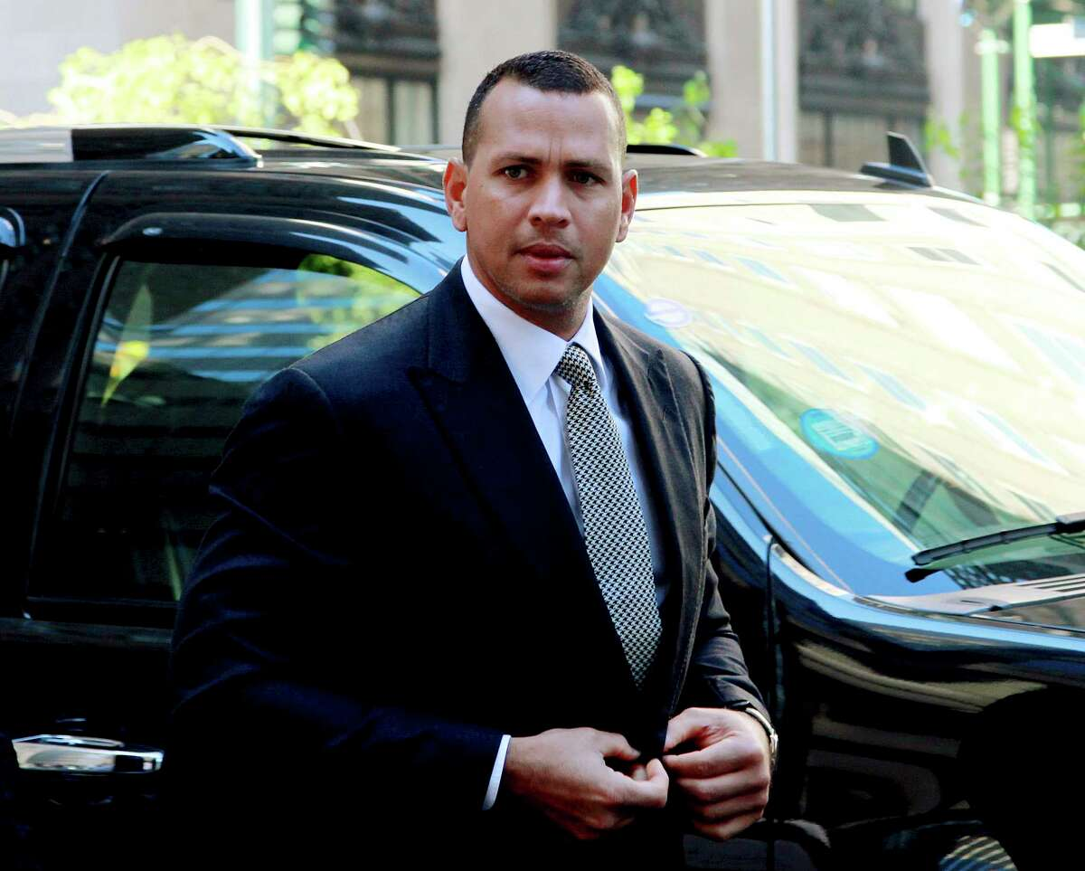 Alex Rodriguez met with members of the New York Yankees' front office on Tuesday.