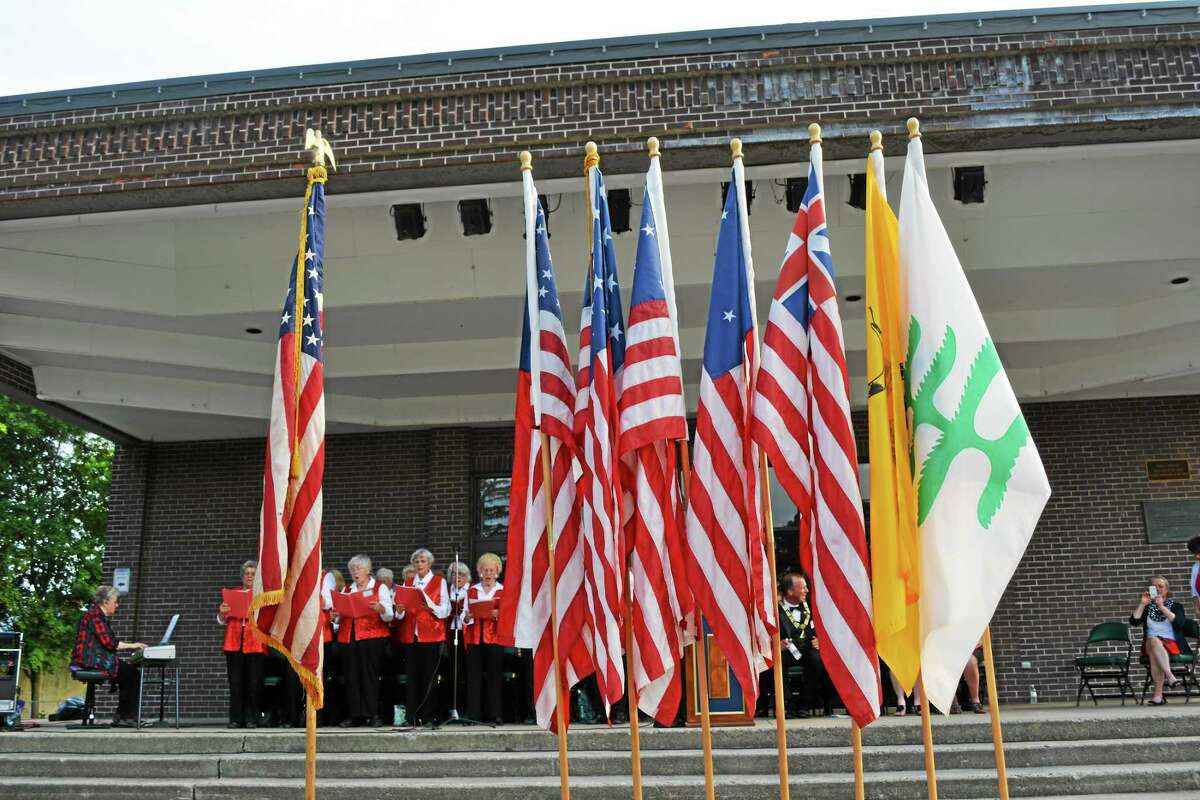 The Torrington Elks Lodge holds its annual Flag Day ceremony Friday.