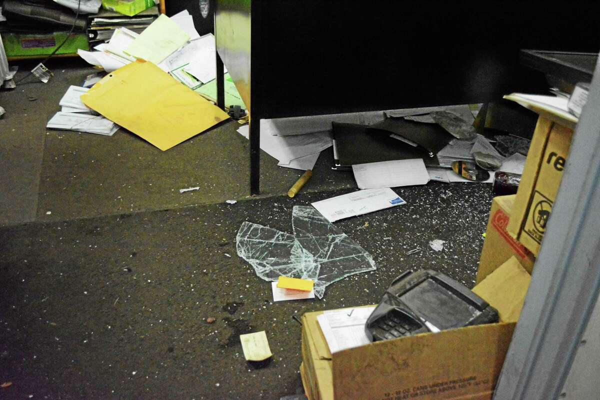 Police are investigating a break-in and vandalism of Dan's Automotive on East Main Street.