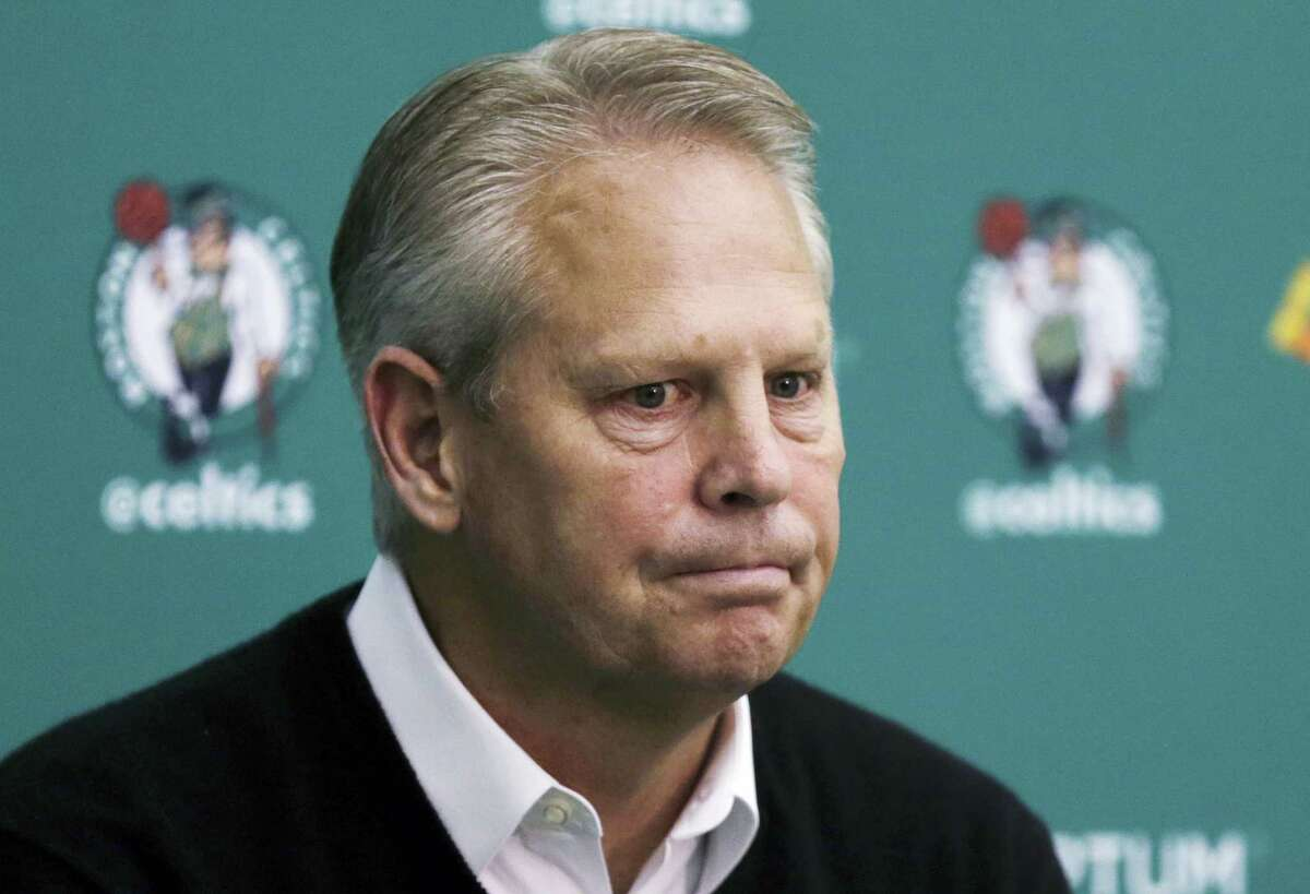 Boston Celtics President of Basketball Operations Danny Ainge.