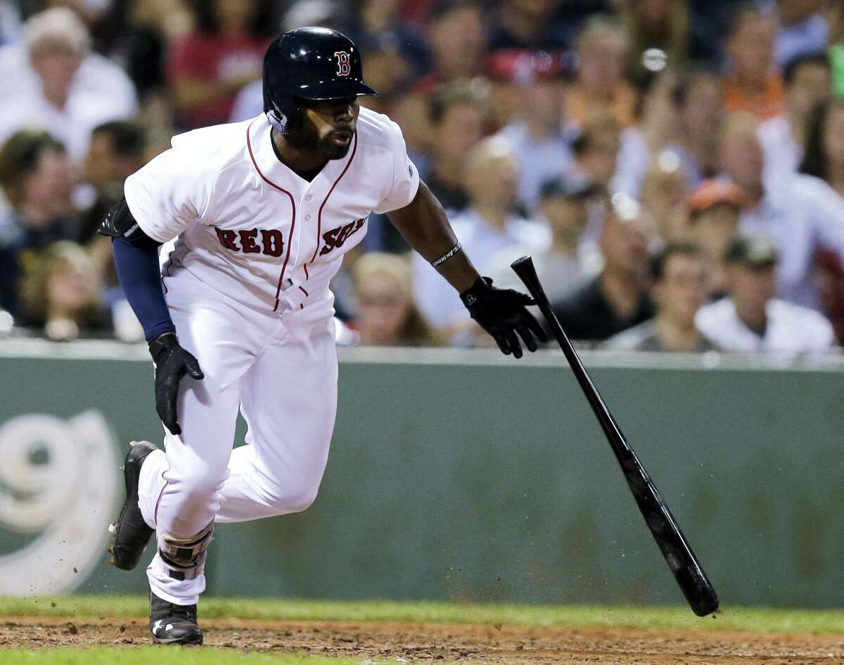 Jackie Bradley Jr. and the Red Sox couldn't solve Chicago's Chris Sale Tuesday night.