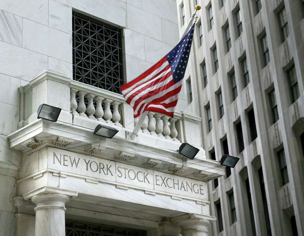 This Monday file photo shows the New York Stock Exchange.