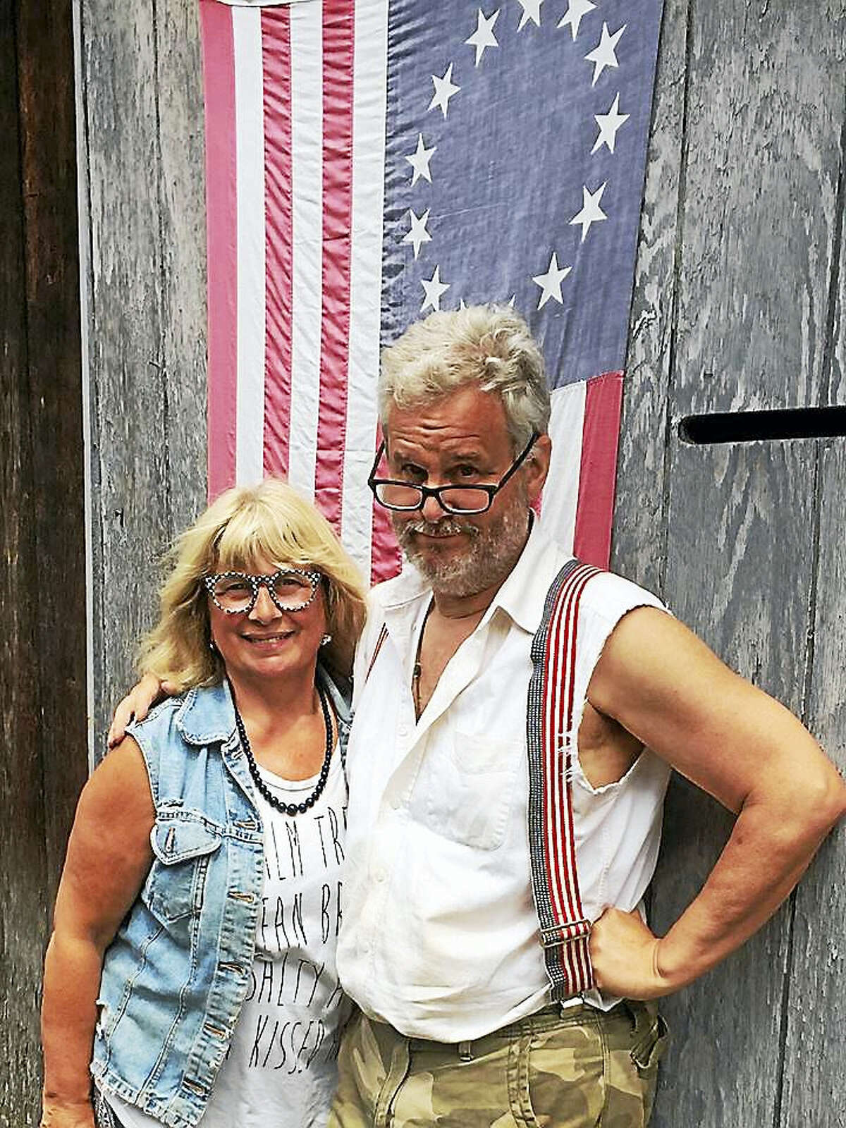 Contributed photoRose Buckens and Harvey Hubbell will be joined by Jodie Siwik at a build-a-lending-library box workshop on July 2 in Litchfield.