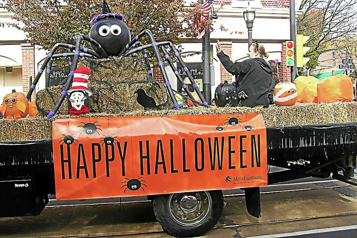 Photo: Margie Royal - DCNN Meridian Bank of Media sponsored the 50th Annual Delaware County Halloween Parade last Saturday.