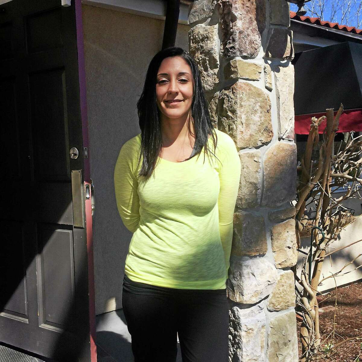 Angela Ciriello, co-owner of 1 Twenty Two Restaurant in New Milford.
