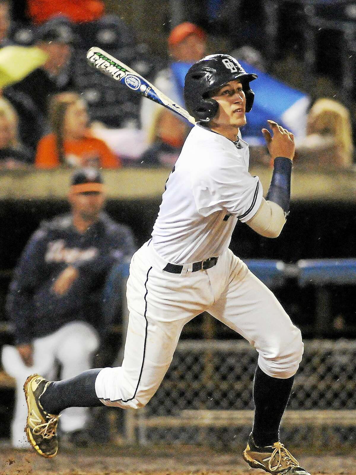 Old Dominion junior second baseman P.J. Higgins of Wallingford was selected in the 12th round of the MLB Draft on Wednesday by the Chicago Cubs.