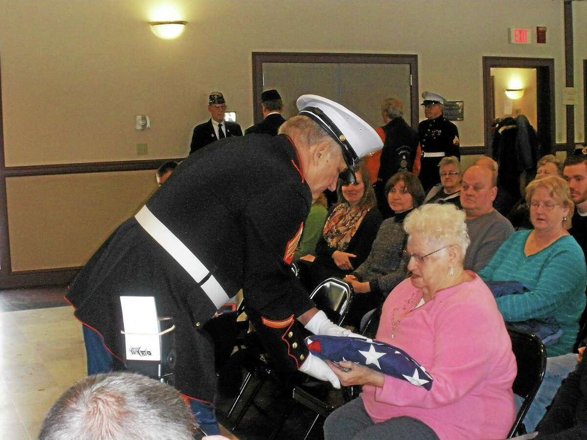 U.S. Army Corporal Richard Arthur Beach was the 312th consecutive veteran to be honored by American Legion Post 44. Family and friends gathered in a ceremony on Saturday in Bantam.