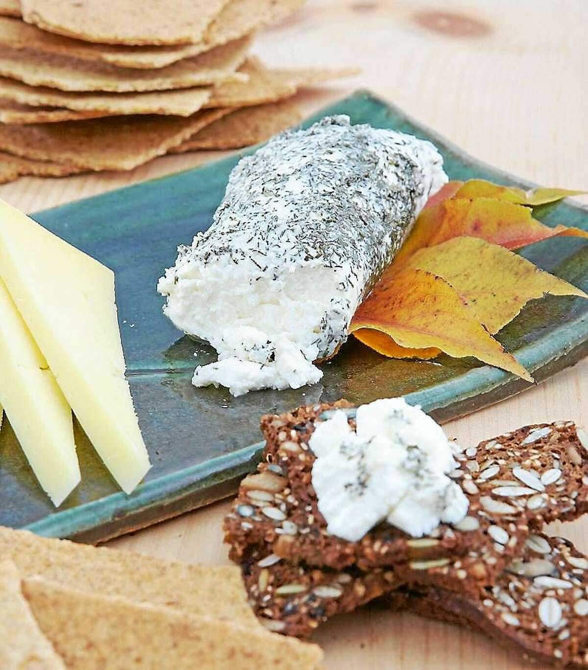 """Contributed photo Sister Noella Marcellino, """"The Cheese Nun,"""" will also make an appearance at the festival, and participate in a question and answer session in the education tent. Above, cheese samples await guests in the tent."""