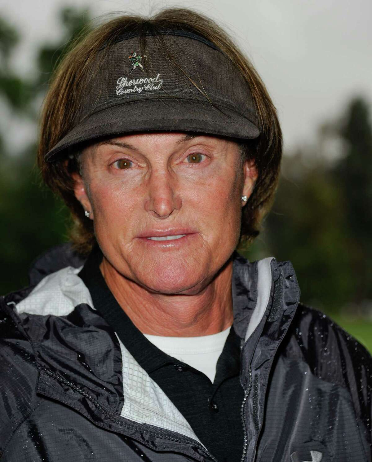 FILE - In this May 6, 2013 file photo, former Olympic athlete Bruce Jenner arrives at the 6th Annual George Lopez Celebrity Golf Classic at the Lakeside Golf Club in Toluca Lake, Calif.