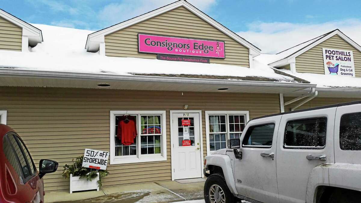 Consignors Edge Boutique is located at 915 New Harwinton Road in Torrington.