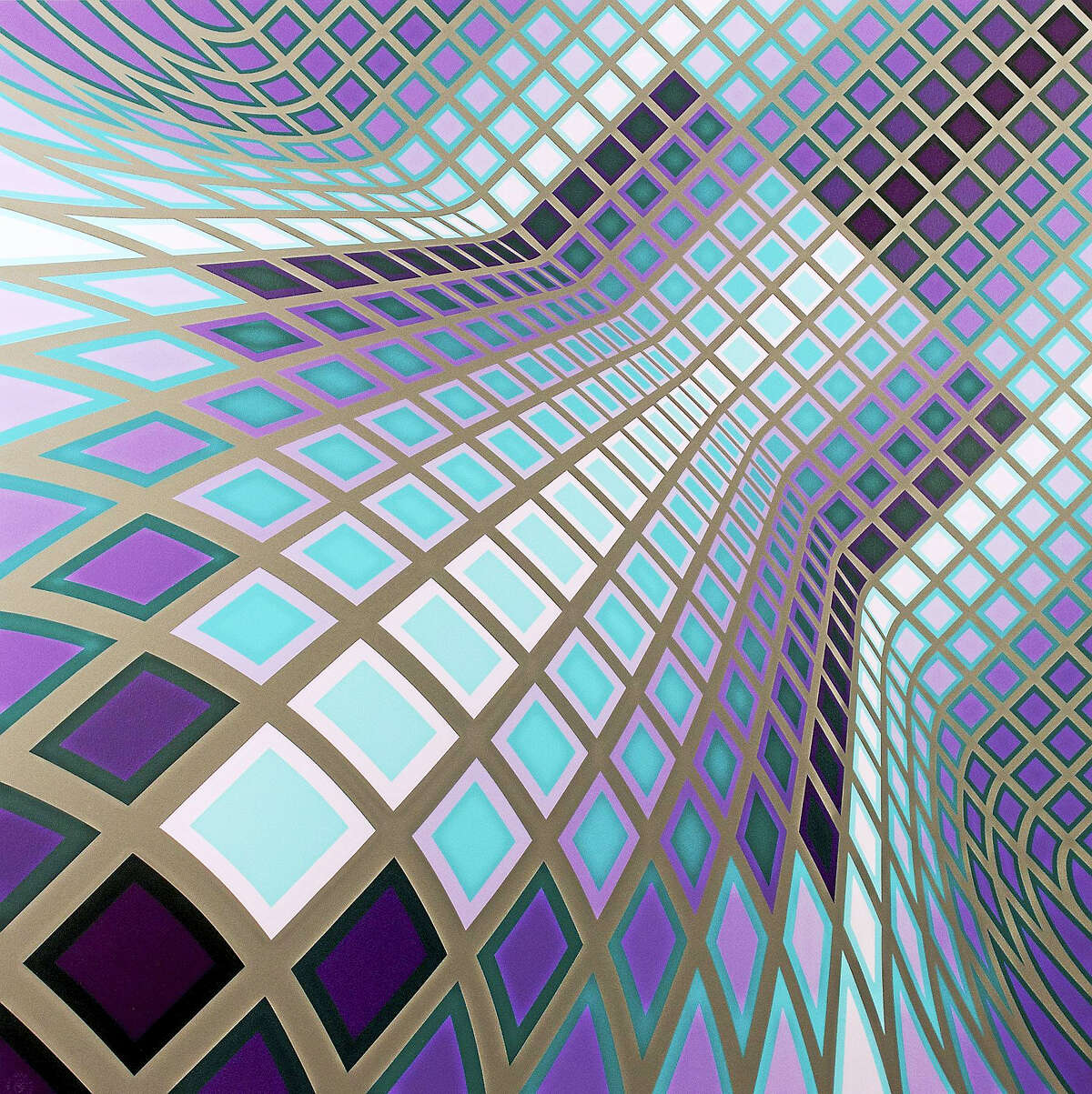Contributed photoThe Mattatuck Museum will host an opening celebration Feb. 18 for the acclaimed exhibition Victor Vasarely: The Absolute Eye. The exhibition of over 60 serigraphs and objects is on loan from the Herakleidon Museum of Art in Athens, Greece.