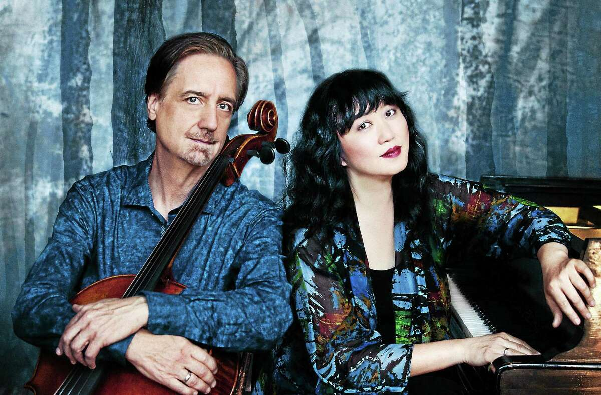 Contributed photo Music Mountain begins its 86th season June 14 with a gala performance and reception featuring David Finckel, Cello and Wu Han, Piano, Artistic Directors of Chamber Music Society at Lincoln Center.