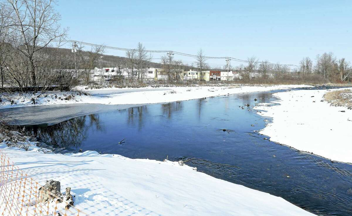 Demolition of the Pond Lily Dam has allowed the West River to flow again through New Haven.