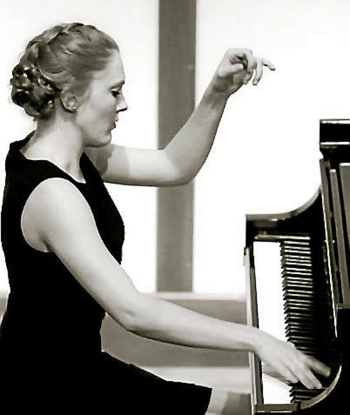 Contributed photo Annie Rose Tindall-Gibson, a former musical child prodigy who is now pursuing her graduate degree at the University of Illinois, will present a piano recital at St. Michaels-Litchfield on Sunday, June 14.