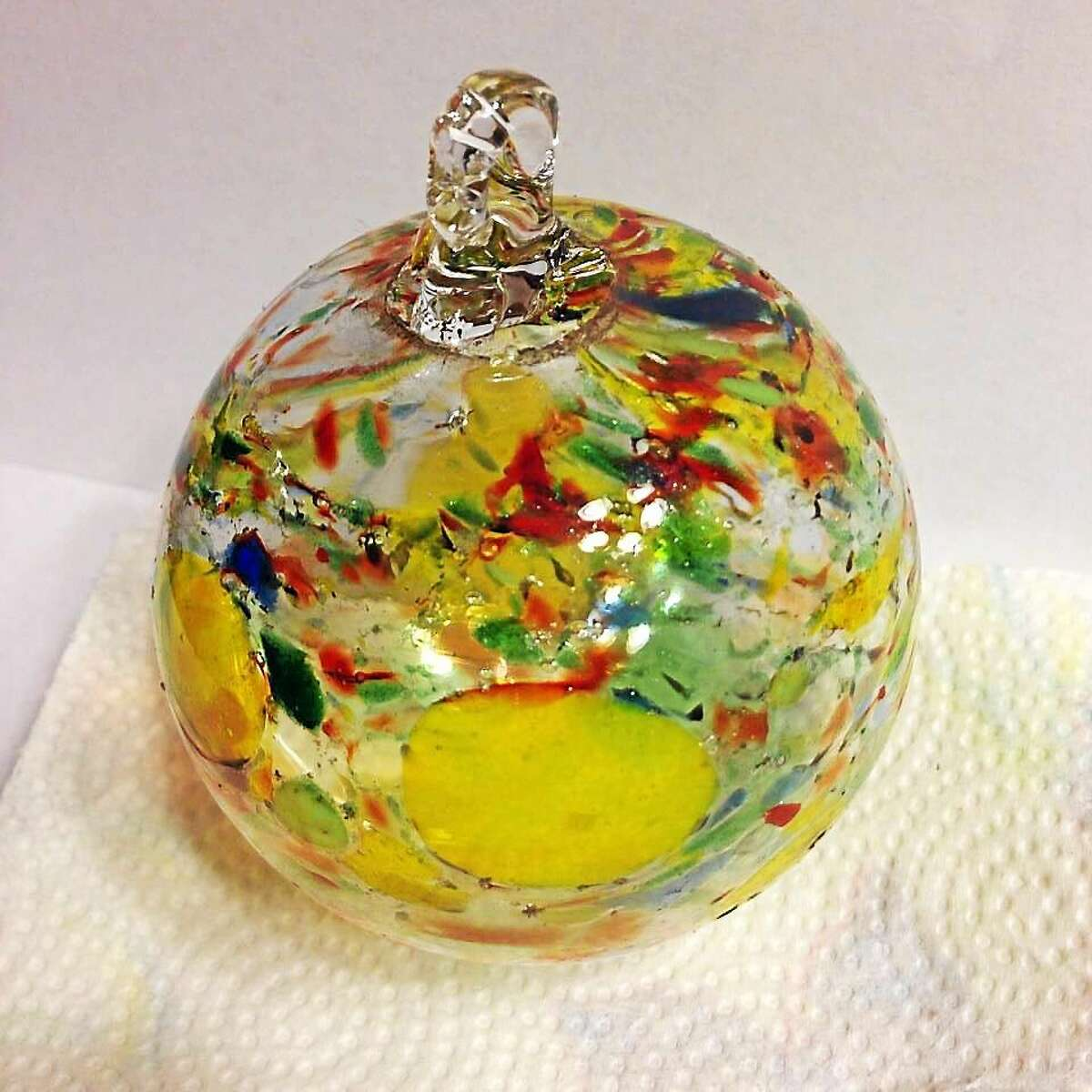 Contributed photo Markis Tomascak's glasswork. The artist is a participant in the Open Your Eyes studio tour in June.