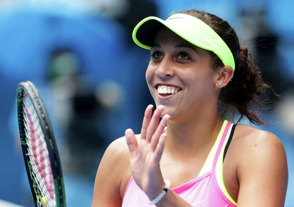 Madison Keys, who made a run to the semifinals of the Australian Open this year, has committed to playing in the Connecticut Open the August in New Haven.