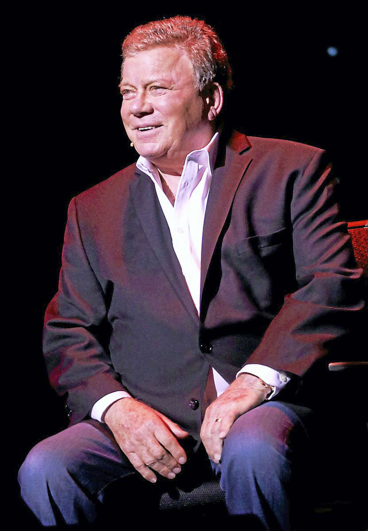 Photo by John AtashianActor, singer, author, producer, spokesman and comedian William Shatner is shown performing on stage during his concert appearance at the Foxwoods Resort Casino in Mashantucket on Saturday, Feb. 6. Shatner entertained the capacity crowd of fans with conversation and stories about his career and life. To view the complete line up of upcoming entertainment coming to Foxwood, visit www.foxwoods.com