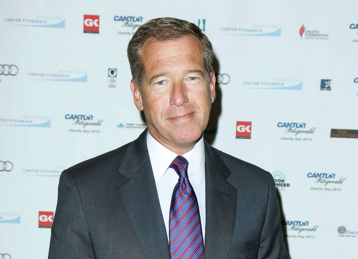 FILE - This Sept. 11, 2012 file image released by Starpix shows Brian Williams at the Cantor Fitzgerald Charity Day event in New York. NBC