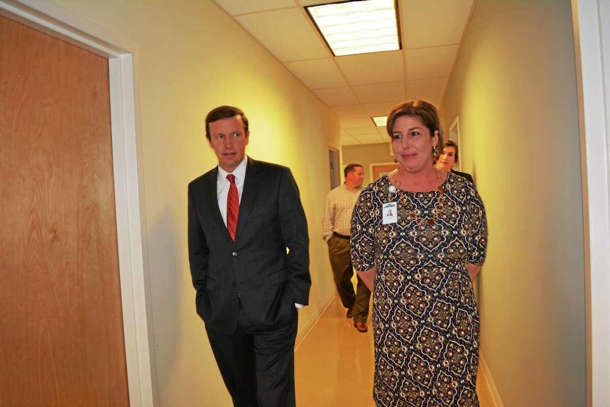 U.S. Sen. Chris Murphy visited the Torrington Community Health and Wellness Center on Monday.