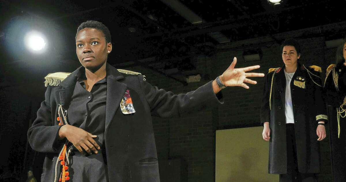 """Shaunette Renée Wilson as Olga in """"The Square Root of Three Sisters."""""""