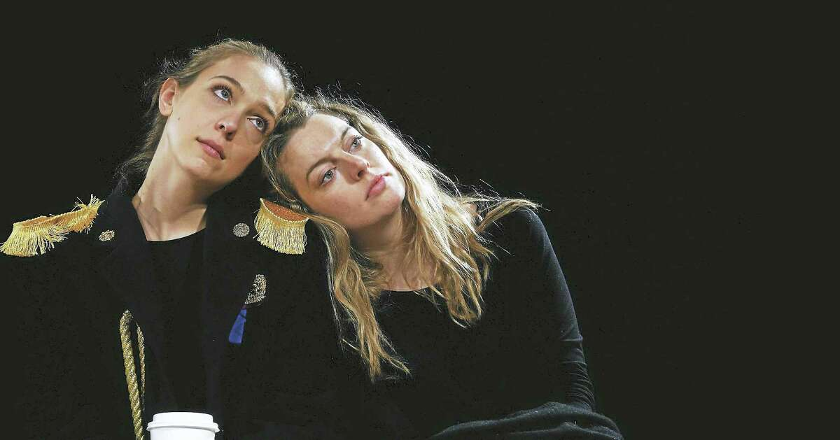 """Annelise Lawson, left, and Annie Hägg as Masha and Natasha in """"The Square Root of Three Sisters."""""""